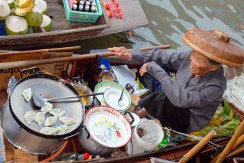 Floating Markets in SE Asia