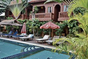 Cambodian hotels used during our photography tours