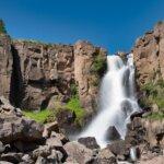 North Clear Creek Falls outside Creed Colorado.