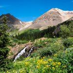 Waterfall photography tours near Ouray