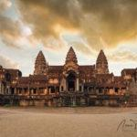 Ancient Temples at Angkor Wat Cambodia