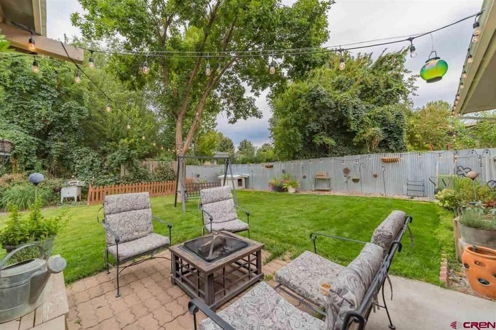 Home Stay Montrose Colorado - Back yard